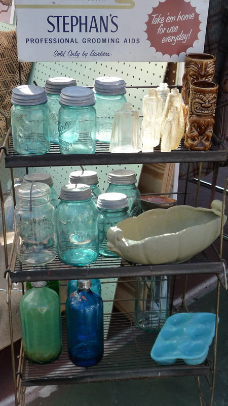 Old jars & seltzer bottles