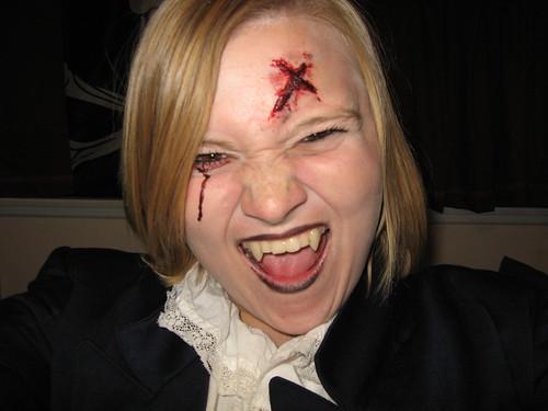 scary vampire makeup. Vampire Makeup 3