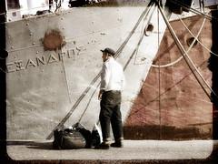 journeys (Jordan_K) Tags: life texture pier artistic memories surreal jordan greece thoughts journey feeling melancholy backsight drapetsonapiraeus