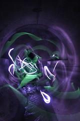 rapture ({ tcb }) Tags: light urban minnesota st dark painting paul october long exposure glow tunnel drain flashlight stick exploration 2008 dans urbex davern