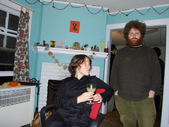 jennie+james. (stephiblu) Tags: november autumn party guests fun nj montclair 2008 autumnball autumnball2008 tichenortichenors