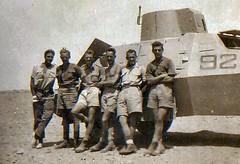 Marmon Herrington Armoured Car (Rob Langham) Tags: world africa two army inch war gun desert aircraft north royal ww2 second artillery british 37 heavy anti 8th langham