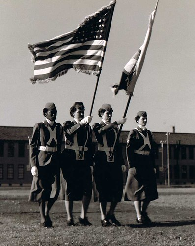 WACs Presenting the Colors