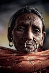 IMG_2450 Nose ring (Swiatoslaw Wojtkowiak) Tags: india festival rural canon asia fiesta tribal celebration dang 5d nosering tradition indien gujarat indigenous inde  adivasi ahwa  bodyadornment   dangdurbar