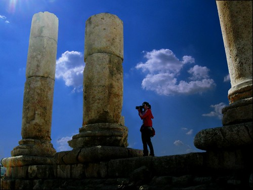 Jordan - Day 2 : Temple of Hercules - Citadel - Amman