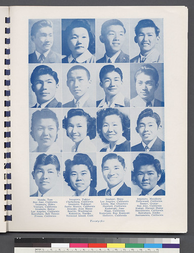Japanese Interment Camp Yearbook Scan