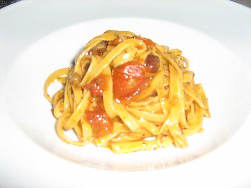 Food at classy Italian restaurant 2