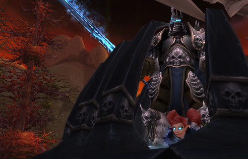 DethBeth hanging with the Lich King