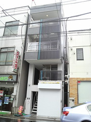 A narrow house
