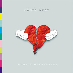 KAWS Kanye West - 808s & Heartbreak Album Cover .