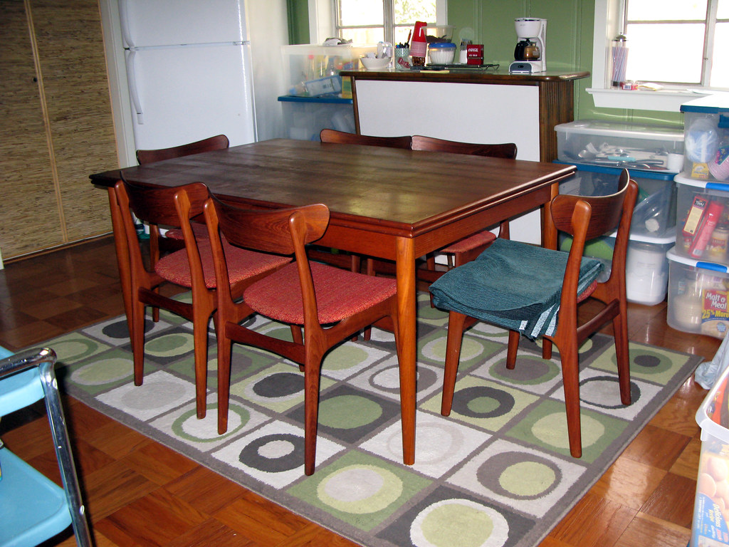 Danish Modern Dining Room Set