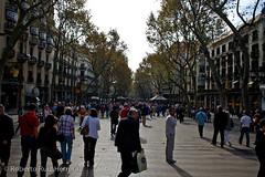 De paseo por las ramblas (Berts @idar) Tags: barcelona calle vacaciones rambla crucero efs1855mmf3556 vidacotidiana catalua espaa canoneos400ddigital