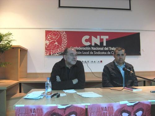 Carlor Taibo en una conferencia en Córdoba en Noviembre 2008.