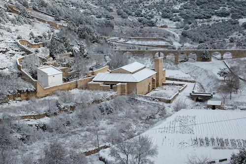 Iglesia del Carrascal nevada