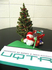 Kit PR de Noel Service des communications UQTR (UQTR) Tags: christmas decorations bureau noel fetes uqtr
