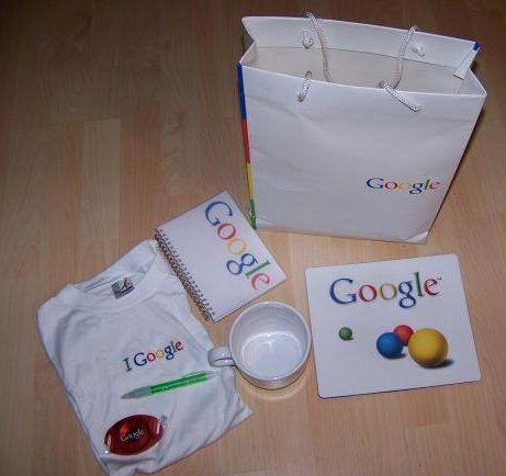 Google 2009 Gifts