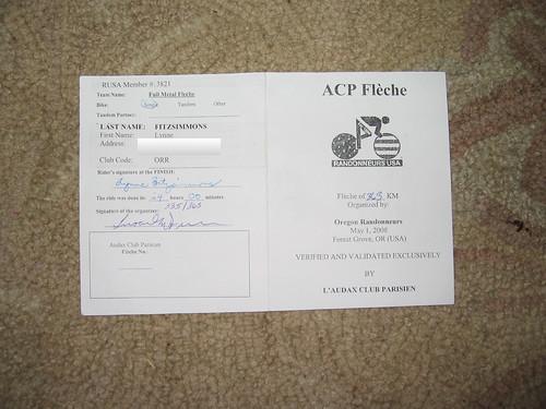 Fleche Card