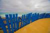 Blue fence - Varadero - Cuba (robsound) Tags: blue sea mer azul clouds mar sand cuba bleu nuvens varadero lightroom slowshutterspeed caribean removedfromadobelightroomfortags robsongaldino