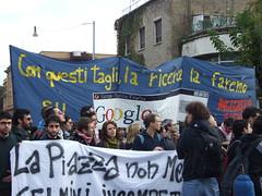 dscf0043 (cesare.v) Tags: protesta 133 corteo sapienza decreto ondanomala