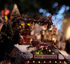 Ho!Ho! Ho! (julesnene) Tags: sanfrancisco california christmas christmasvillage julesene