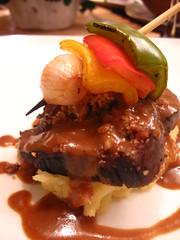 Crusted Wagyu Fillet Cashew Humba Sauce