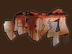 outline by Artik - Made digital by Maty ([ Maty ]) Tags: color art colors train graffiti design sketch paint pieces tag group style trains spray marker graff piece 2008 tagging exchange 2009 bombing trein grunch stift stijl maty righart tulpfiction ff83