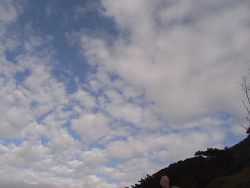 你拍攝的 8天空。