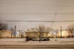 Neighbors (metroblossom) Tags: snow building fall indiana study southside bp residential refinery isolated 354 whiting britishpetroleum img0204jpg popwhitingssiding northwesternindiana