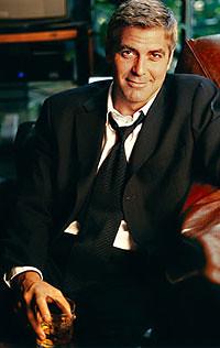 Mrs Clooney's wee boy George