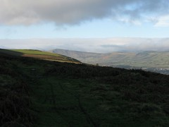 Looking towards Mam Tor on climb up to Stanton edge (Bamford, United Kingdom) Photo