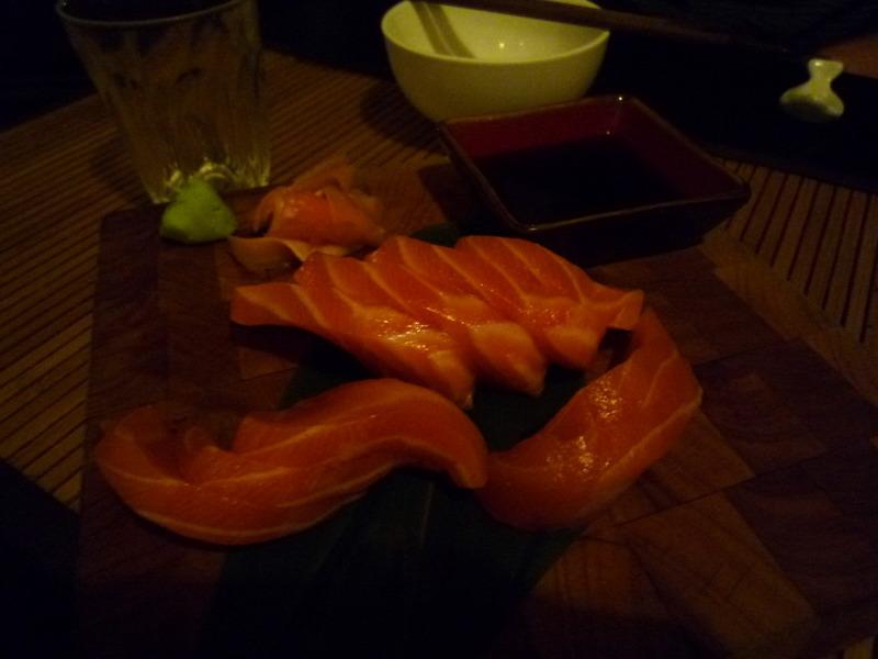 Salomon sashimi