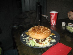 NEW Lordi Rocktaurant photos-burger dish
