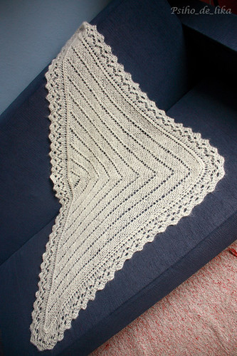 Shoulder Shawl in Syrian pattern
