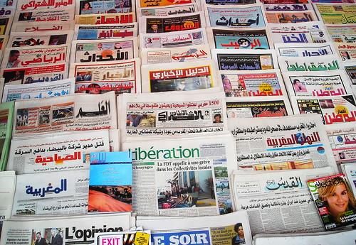 Periodicos marroquíes