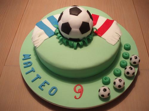 BOLO DE FUTEBOL/SOCCER CAKE