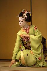 Kyomai, Maiko Takahina #6 (Onihide) Tags: japan kyoto maiko hanamachi kyomai gionkobu gününeniyisithebestofday takahina paololivornosfriends