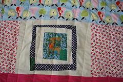 Back of Green Wonder Quilt