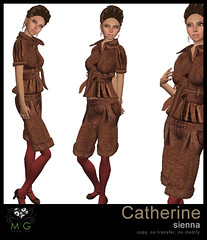 [MG fashion] Catherine (sienna)