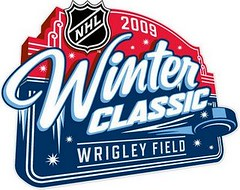 2009 NHL Winter Classic logo - Wrigley Field