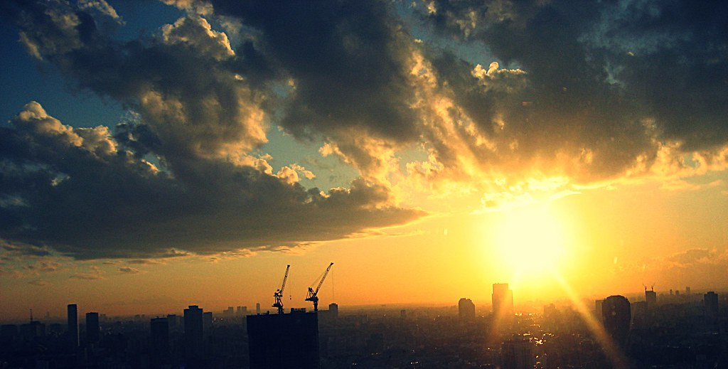 Sunset from Tokyo Tower