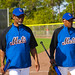 Jerry Manuel and Sandy Alomar