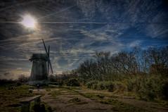 Sky (*Richard Cooper *) Tags: wirral bidstonhill bidstonwindmill