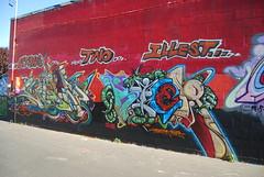 Chew Kier (Vandal_SLC) Tags: city two lake graffiti utah salt cne chew slc ars roza kaw uti kier utahs mysa illest wbk 26k defstar