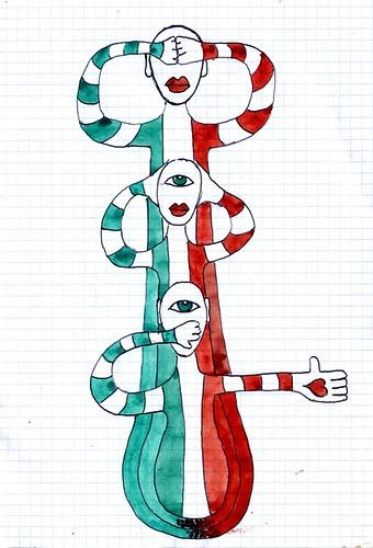 skittles flag - i birilli bandiera 2009 W.Vecchietti