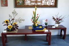 (tissue_fleur) Tags: ikebana drsunyatsenclassicalchinesegarden japaneseflowerarrangement