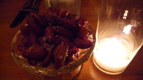 Bacon maple almonds at Buttermilk Channel