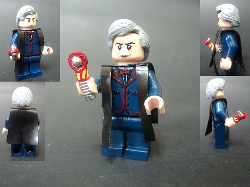 Custom minifig The Third Doctor