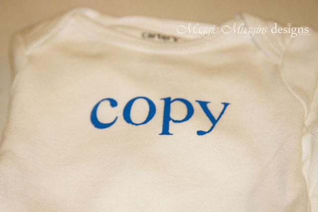 Copy Onesie