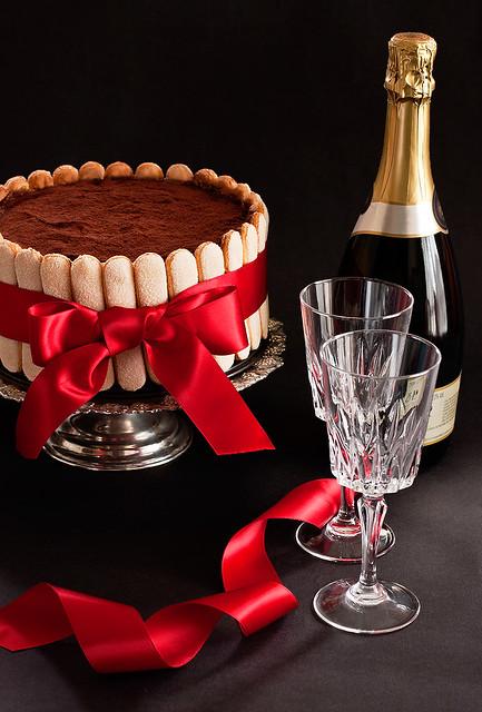 Tiramisu cake to selebrate