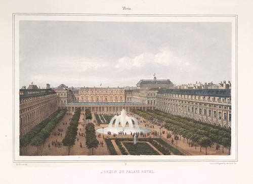 009- Paris- Jardin del Palacio Real 1858